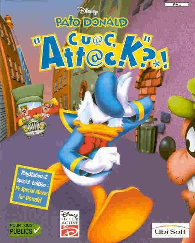 Атака Дональда Дака / Attack Donald Duck (2004/PC/Rus). Увлекательная игра компании Дис